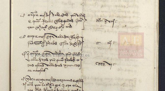 """El vocabulario del """"Libro de Armadas de la expedición a la Especiería"""" (1506 / 1508)"""