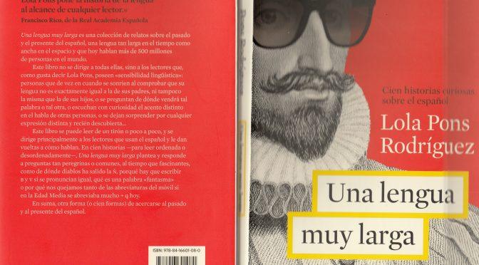 Una lengua muy larga, de Lola Pons