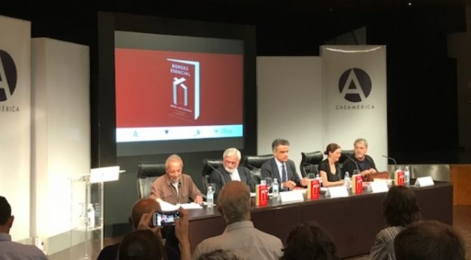 «En el centro de Europa están conspirando». Homenaje a Jorge Luis Borges